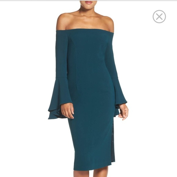 Bardot Dresses & Skirts - $119 BARDOT Solange Off the Shoulder Midi Dress